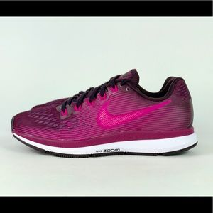 Nike Air Zoom Pegasus 34 Port Wine/Deadly Pink